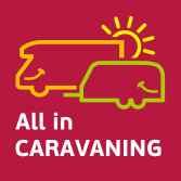 All in CARAVANING Logo